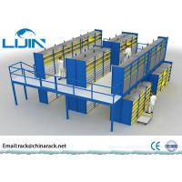 Buy cheap Heavy Duty Rack Supported Mezzanine System Q235 Steel Material AS4084 Approval from wholesalers