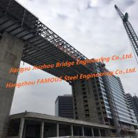 Buy cheap Modular Connecting Corridor Skyway Steel Structure Fabrication Between Urban High Rise Buildings product