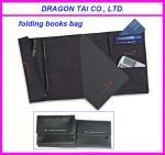 Buy cheap Nylon folding book bag, mini book bag, foldable school bag from wholesalers