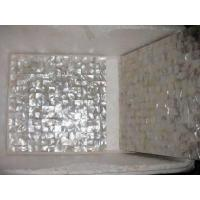 Buy cheap White sea shell tiles from wholesalers
