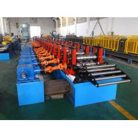 Buy cheap 5mm Thick C Purlin Roll Forming Machine With Gear Box Drive from wholesalers
