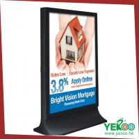 Buy cheap Hottest and updated street advertising backlit banner stand light box product