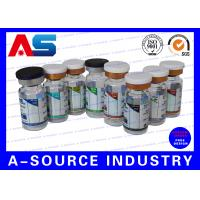 Buy cheap Blue Waterproof Label Printing Pharmaceutical Label Printing For Steroid Package from wholesalers