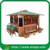 Buy cheap Outdoor wooden gazebo pavilion(WG-04) from wholesalers
