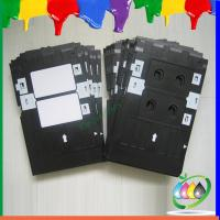 Quality ABS Black Tray For Epson Inkjet Printer R260 R265 R270 R280 Directly Printing PVC Card for sale