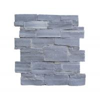 Buy cheap Natural Stone Exterior Wall Cladding Black Slate Innovation Goods 2018 Cement Natural Stone Panels from wholesalers