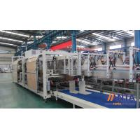 China High Speed Carton Packaging Machine , Hot Melt Glue Case Packer Nordson Glue Machine 80 CPM on sale
