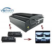 Buy cheap 720P HD 3G Mobile DVR with 4CH Mobile DVR CMS platform for CIty Bus from wholesalers