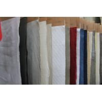 Buy cheap Breathable Organic Cotton and Linen Mix Fabric , Washed Upholstery Cloth 20Ne * 20Ne product