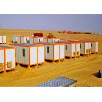 Buy cheap Windbreak Storage Container Houses , Flat Pack Storage Container In Desert from wholesalers