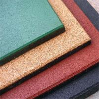 Buy cheap Safety Outdoor Rubber Tile Rubber Flooring Rubber Mats For Garden from wholesalers