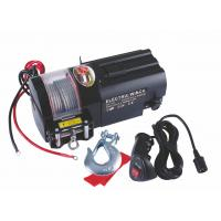 Buy cheap Electric 12V 4500 lb line pull Utility Trailer Winch / Winches from wholesalers