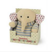Buy cheap Personalised Heatable Plush Toy Elephant Microwaveable Warmer For Children Present from wholesalers