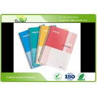 Buy cheap Recycled A4 Spiral Bound Notebook , Custom Offset Printing A5 Spiral Notebook from wholesalers