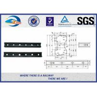 Buy cheap Forged Railroad Rail Fish Plate Joint Bar With 4 Holes or 6 holes from wholesalers