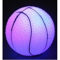 Buy cheap Best quality Led lighting Basketball for party and garden,Wholesale Led vinyl products from wholesalers