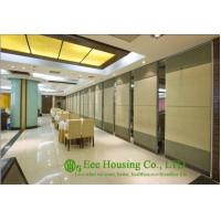Buy cheap Soft Fabric Finished Movable Partition Wall For Dinning Hall, Good Sound Insulation from wholesalers