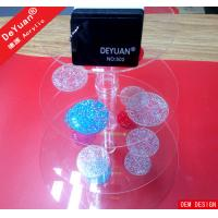 Buy cheap Eco Friendly Clear Square Acrylic Holder Stand For Cupcake Display from wholesalers