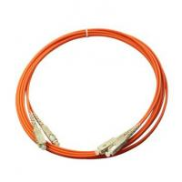 Buy cheap Multimode orange color PVC out  jacket  Good Repeatability Fibre Optic Patch Cable from wholesalers