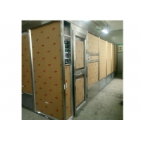 Quality Stainless Steel Frame Plexiglass Wall Softwall Clean Room For GMP Clean Room for sale