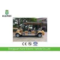 Buy cheap 4kW Electric Sightseeing Car Max Speed 30km Suits For Public Area Transportation product