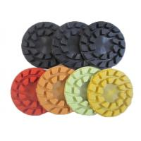 Buy cheap Turbo Type Marble Concrete Floor Polishing Pads 4mm Thickness High Performance from wholesalers