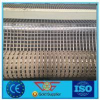 Buy cheap Factory Supply Fiberglass Geogrid  100kn/m product