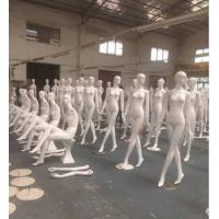 Buy cheap Full body standing female dolls dummy life size suitable weight mannequin manikin with UV paint from wholesalers