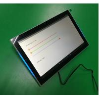 Buy cheap Meeting room management 10'' IPS touch screen with RGB LED NFC RJ45 POE from wholesalers
