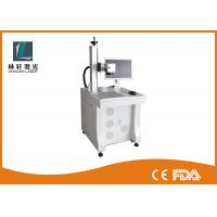 Raycus Source Fiber Laser Marking Machine 1064 nm Wavelength For Metal Oxide / Faucet