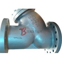 Buy cheap Class 300LB Wye Type Strainer Butt Weld BW Ends Low Fluid Resistance from wholesalers