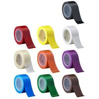 Buy cheap 3M 471  Electrical Insulation Tape For Floor caution Tape Blue PVC Vinyl Rubber Adhesive from wholesalers