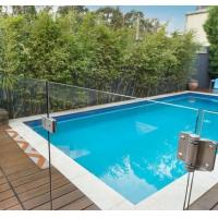 Buy cheap swimming pool safety fence,safety clear tempered glass pool fence, frameless pool fence from wholesalers