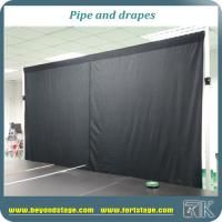 Buy cheap custom pipe and drape adjustable backdrop stands curtain poles for sale from wholesalers