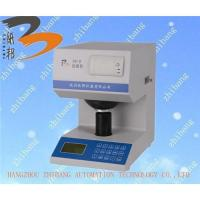 Buy cheap ZB-B whiteness opacity tester from wholesalers