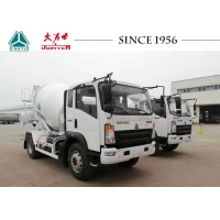 Buy cheap HOWO 4CBM 6 Wheeler Concrete Mixer Truck With Euro IV Engine from wholesalers