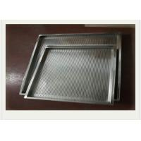 Buy cheap 304 Stainless Steel Wire Mesh Tray With Rectangular For Filtering from wholesalers