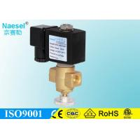 Buy cheap 12 Volt Gas Solenoid Control Valve Normal Closed Flow Adjustable Quick Shut off from wholesalers