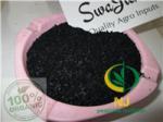 Buy cheap NJ Organic fertilizer|seaweed extract fertilizer | black flakes /powder|25% alginic acid seaweed fertiliser from wholesalers