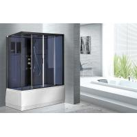 Buy cheap Professional 1700 X 850 Rectangular Shower Cabins , Rectangular Shower Cubicles from wholesalers