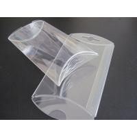 Buy cheap gift box wholesale clear PVC box small pillow shape die cut  box from wholesalers