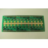 Buy cheap Custom Green Solder Mask 4 Layers Multilayer PCB FR4 Circuit Board With Metal Plate Edge from wholesalers