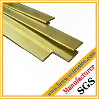 China copper alloy plate brass flats brass sheets on sale