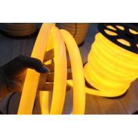 Buy cheap hot sale 360degree building yellow 110v pvc neon flex lights for building from wholesalers