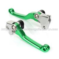 CNC Billet Motorcycle Brake Clutch Lever For KX 85 100 125 250 KX 250F 450F MX Parts