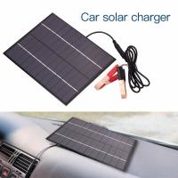 China 5.5W 12V Car Battery Power Charging Lightweight Solar Panels Photovoltaic Silicon Solar PV Panels on sale