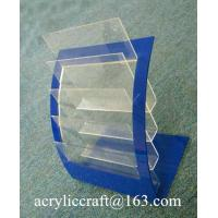 Buy cheap Multi-layer countertop acrylic brochure display holder for A4 SIZE from wholesalers