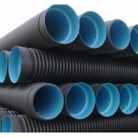 Buy cheap hdpe double wall corrugated pipe dwc hdpe plastic culvert pipe prices product