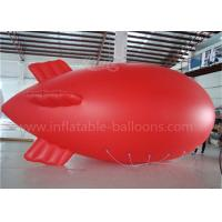 Buy cheap Red Inflatable Remote Controlled Blimp Outdoor Zepplin Big Helium Balloons from wholesalers