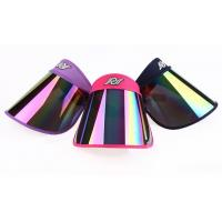 Buy cheap UV-resistance Plastic Visor Caps for Women with Fashionable, Fashionable UV Sun Visor Hats from wholesalers